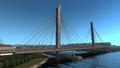 Saint Petersburg Vantovyy bridge