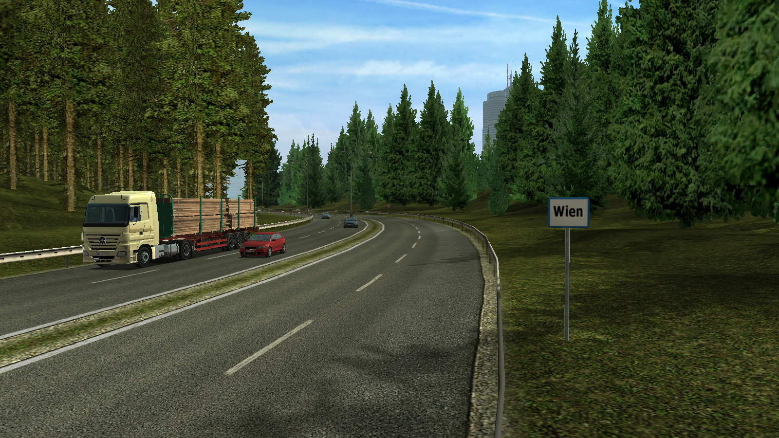 Wien/Euro Truck Simulator