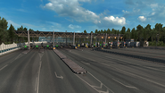 Russia toll gate 1