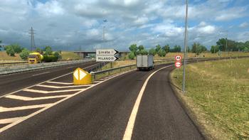 Highway offramp