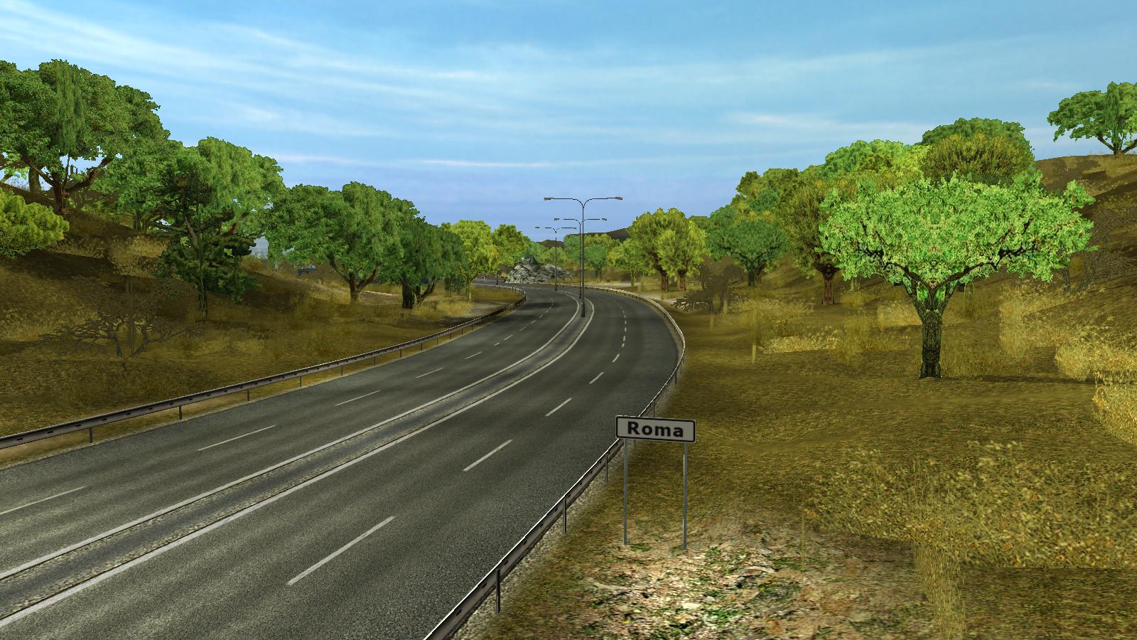 Roma/Euro Truck Simulator