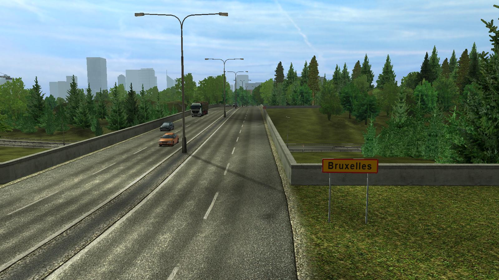 Brussel/Euro Truck Simulator