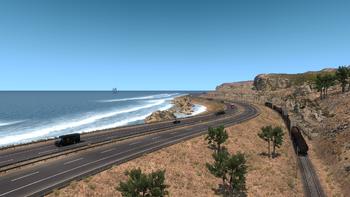 S. CA coast