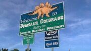 Dinosaur Welcome to Dinosaur Sign.jpg