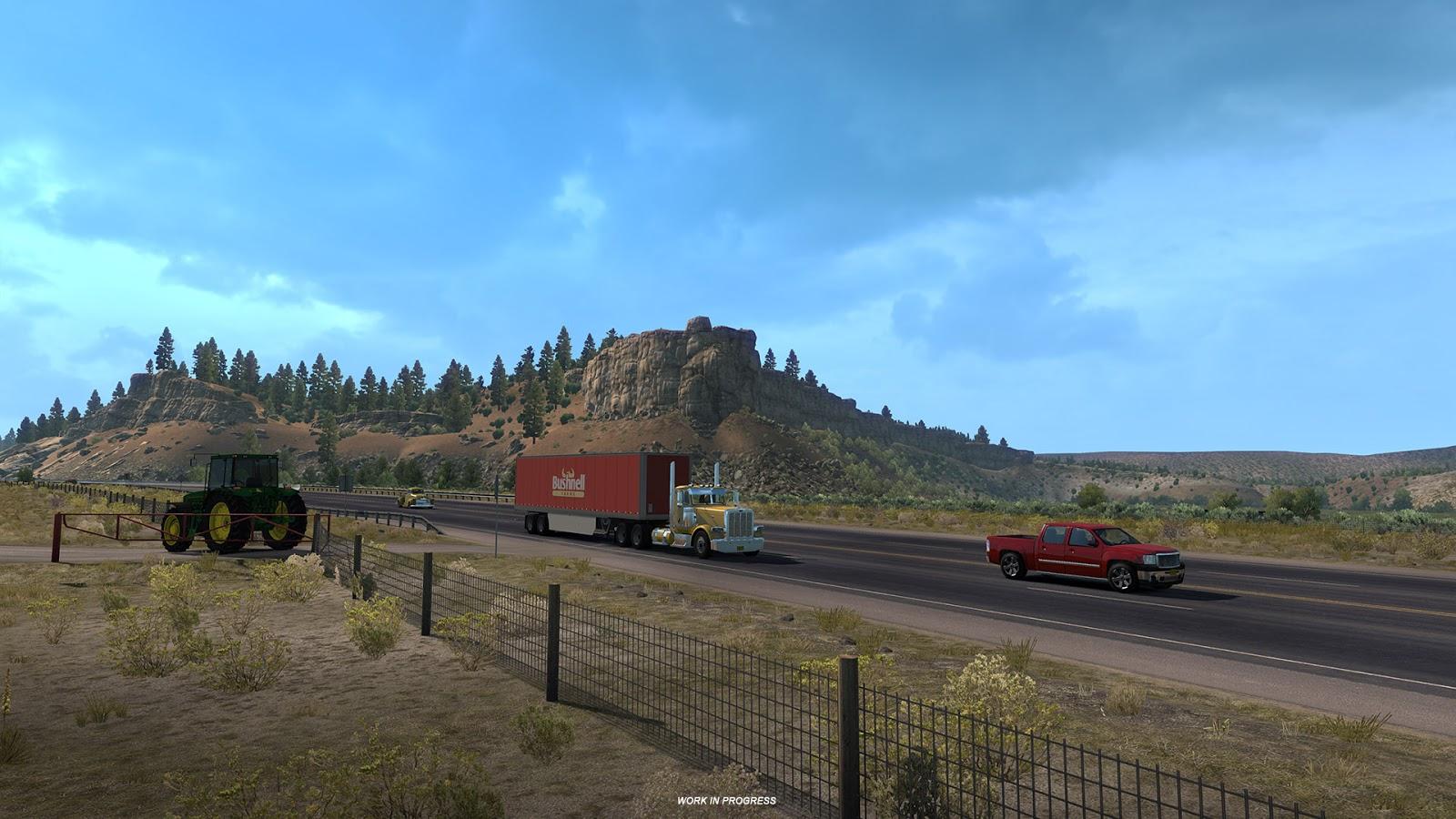 Free Download American Truck Simulator 1.32