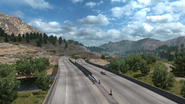 I-5 CA Mountains