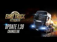 Changelog for ETS2 Update 1
