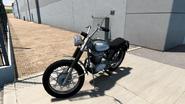 Gray+Black Stripe 1968-1976 Ducati Scrambler