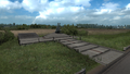 Saint Petersburg Aurora battery memorial