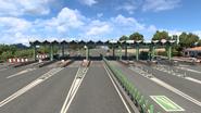 Portugal toll gate