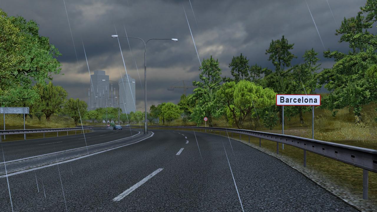 Barcelona/Euro Truck Simulator