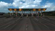 Russia toll gate 2