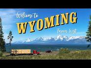 American Truck Simulator- Wyoming DLC