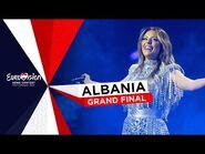 Anxhela Peristeri - Karma - LIVE - Albania 🇦🇱 - Grand Final - Eurovision 2021
