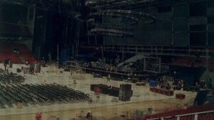 Building the arena