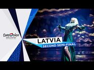 Samanta Tīna - The Moon Is Rising - LIVE - Latvia 🇱🇻 - Second Semi-Final - Eurovision 2021
