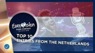 TOP_10-_Entries_from_The_Netherlands_-_Eurovision_Song_Contest