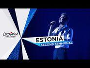 Uku Suviste - The Lucky One - LIVE - Estonia 🇪🇪 - Second Semi-Final - Eurovision 2021
