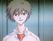 Kaworu talking to Rei (ep 24)