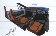 Renault Alpine A310 Interior