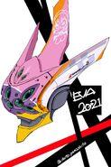 Evangelion Unit-08 new head design draft