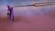 The End of Evangelion EVA01 y la lanza de Longinus