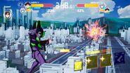Evangelion Battlefields jugabilidad 1