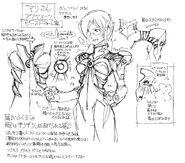 Ikuto Yamashita Plugsuit Beast Illustration