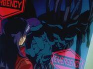 Evangelion Cuerpo de Simulación ataca