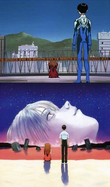 Теории и анализ: Финальная сцена в «End of Evangelion»