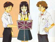 Shinji Mayumi y Kensuke