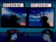 Episodio 9 Shinji y Asuka pelean