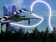 Armisael ataca al eva-00