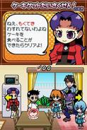 Captura Juego Evangelion@School