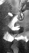 Gendo swallows Adam (manga)