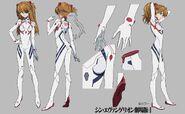 Asuka Evangelion 3 + 1 Plugsuit
