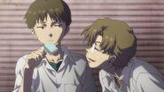 Eva 2.0 You Can (Not) Advance Kensuke y Shinji