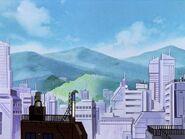 Edificios de Tokio 3 en Evangelion