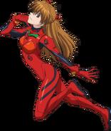 Pachislot Evangelion CR-11 Asuka 2