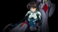 Shinji inside Unit-01 (Rebuild)