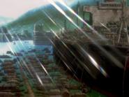 Segundo Impacto barco ciudad provisional