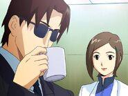 Secret of Evangelion Kyouya Kenzaki y Kaga Hitomi