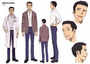 Toji Suzuhara Shin Settei color
