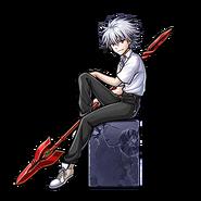 Unison League Gear-Kaworu Nagisa Render