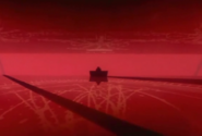 Sephirot and Star of David in Gendo's office