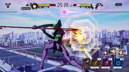 Evangelion Battlefields jugabilidad 2