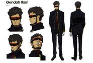 Gendo Ikari en Rebuild 3.0