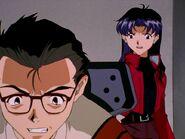 Episodio 24 Hyuga y Misato