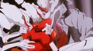 Evangelion Ryousanki atacan al EVA02