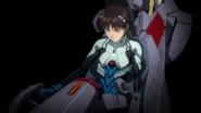 Shinji dentro del EVA (Rebuild)